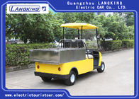Customized Cargo Box Electric Delivery Van, 2 Seater Utility Electric Car Used Hotel